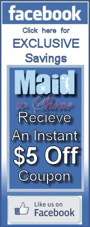 Maid to Shine House Cleaning Facebook Coupon